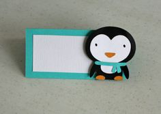 12 Winter Onederland Penguin Placecards or Food Table Cards, Winter Wonderland, Penguin Birthday, Birthday Banner on Etsy, $15.00