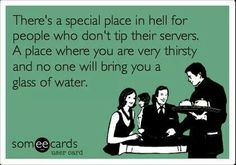 Tip your servers! #ecards