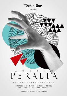 Austin Peralta poster / illustration to inspire Text Poster, Music Poster, Poster S, Poster Collage, Poster Ideas, Cover Design, Graphisches Design, Design Ideas, Circle Design