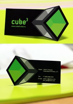 tricky #businesscards  Clever concept, well thought-out.