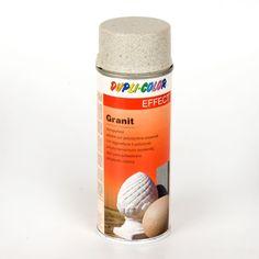 ESPRAY GRANIT STYLE - Espray al agua para conseguir un efecto granito. Indicado para todo tipo de materiales: cartón, corcho, porcelana, cristal e incluso poliestireno expandido para crear las más increíbles imitaciones. Material World, Convenience Store, How To Make, Style, Granite, Window Displays, Diy, Porcelain Ceramics, Crystals