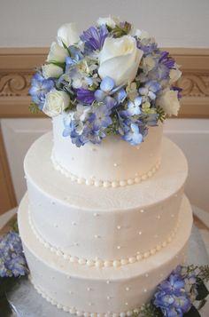 A Sweet Pea purple cake