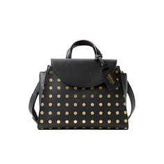 The Mini A Satchel in Gold Dot - Kate Spade Saturday