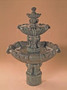 Superb Vesuvio Tiered Outdoor Water Fountain Great Ideas