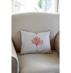 Los Cabos Coral Leaf Mini Pillowcover 40x30 - New Arrivals | Rivièra Maison
