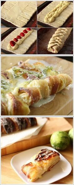 Lemon-Lime Danish Braid