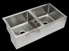 Double bowl stainless steel butler sink Gade 304