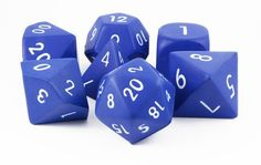 Let the good times roll with a giant set of foam RPG dice! These 2-inch...
