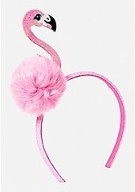 Sweet Girls Flamingo Headband Costume Beach Party Pink Hair Accessory