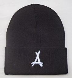 0970a0c8fff Men s   Women s Tha Alumni The A Iconic Logo Signature Cuffed Knit Beanie  Hat - Black   White