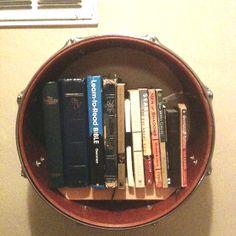 Drum Shelf :-) #homeidea #shelf #drums
