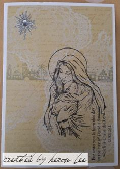 layered stamping #ctmh #close to my heart #keron lee #handmade cards #christmas cards