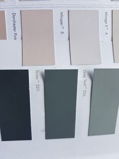 Scree, Dorchester pink and Whisper all from Little Greene Paint Colors For Home, Paint Colours, Little Greene Paint, Tiled Hallway, China Clay, London House, Master Bedrooms, New Room, House Painting