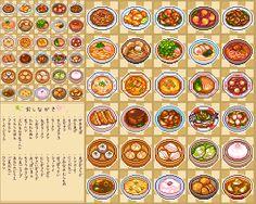 ドット絵中華料理アイコン Pixel Art Food, Pixel Art Games, Food Art, Kawaii Doodles, Food Icons, Food Drawing, Pastel Art, Kawaii Drawings, Video Game Art