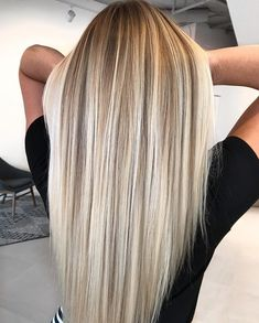 Hot Shot Warm Balayage Finalists 2019 - Behindthechair com Ombre Hair Color, Hair Color Balayage, Hair Highlights, Dirty Blonde Hair With Highlights, Highlighted Blonde Hair, Blonde Balayage Highlights, Blonde Hightlights, Blonde Highlights With Lowlights, Black Balayage