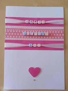 Hey, I found this really awesome Etsy listing at https://www.etsy.com/listing/182877816/ribbon-layered-mothers-day-card