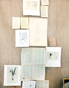 Burlap and old book pages Diy Photo Backdrop, Photo Backdrops, Backdrop Ideas, Diy Foto, Ard Buffet, Residence Life, Old Book Pages, Pastel Colors, My Room