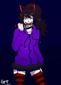 Nina the Killer is the best creepypasta character  ever  and i don't care what people say about her , i'm still her biggest fan