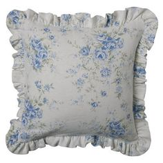 Simply Shabby Chic® British Rose Pillow Slipcover - Pair only $20!
