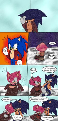 Sonic Nova: An Unexpected Baby Pg 12 by SonikkuFan94