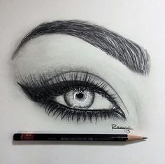 I love eye drawings! More