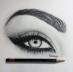 I love eye drawings!                                                                                                                                                                                 More