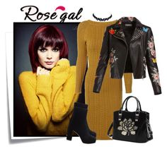 """""""rosegal 7"""" by elenb ❤ liked on Polyvore featuring Post-It, Bagatelle and Miu Miu"""