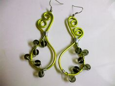 Wire Earrings!!! #howto #tutorial
