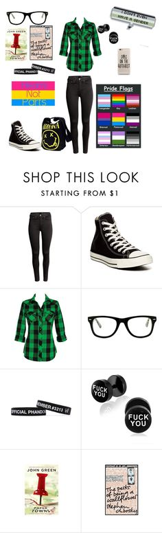"""""""Unnamed"""" by bandgirl1013 ❤ liked on Polyvore featuring H&M, Converse, Muse and Wallflower"""