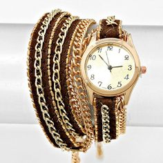 Layered Sepia Watch