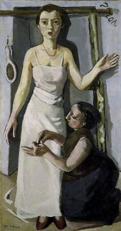 At the Dressmaker's Marie-Louise von Motesiczky