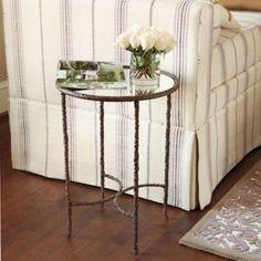 Xavier Side Table    European-Inspired Home Furnishings   Ballard Designs $219