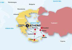 Contiki: Greece and Turkey cruise
