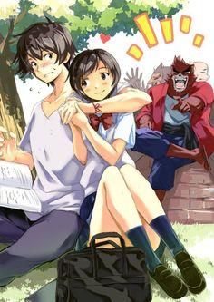 ANIMATOR Hosoda Mamoru, Bakemono no ko (The Boy and The Beast), Kyuta, Kaede, Kumatetsu, Tatara & Hyakushubo