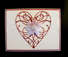 Ann Greenspan's Crafts: La Rue Heart cards