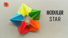 Modular Star - DIY Origami Tutorial - 68