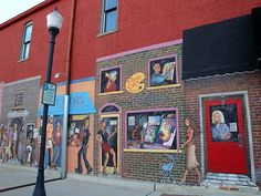 Mural outside of Lifestyles - a local store in downtown Valpo Home Again, South Bend, Day Trips, Illinois, Indiana, Places To Visit, Chicago, Journey, Vacation