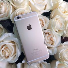 iphone, rose, and flowers image Iphone 8, Iphone 6 Gold, Apple Iphone, Tumblr Iphone, Iphone Cases, Galaxy S3, Smartphone, Accessoires Iphone, Electronic Devices