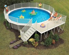 I'd love for you to read, chime in and give me the scoop- are swimming pools worth the hassle and cost?? (Also, I tell you about my LOVE for my aboveground in the 1980s...)