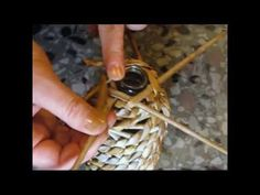 Basket making. Spiral weaving. Part 1. - YouTube