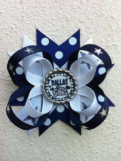 Dallas Cowboys Loop Bow