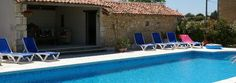 for those lazy days - relaxing by the large heated pool
