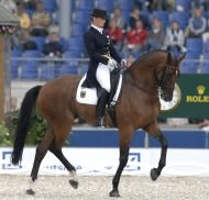 Isabell Werth & Satchmo winners of the individual Gold Medal - ©FEI