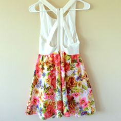 Flash Salehp Floral Sundress!