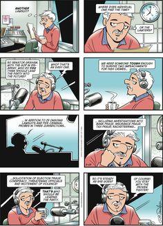 Garry Trudeau, Alpha Dog, Between Friends, The Washington Post, Comic Strips, Presidents, Cartoon, Comics, Comic Books