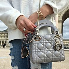 lady DIOR bag | DIOR so real sunglasses | CARTIER love , nail bracelet | beautiful engagement ring