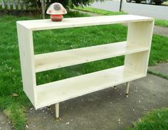 Something like this for books and tv Outdoor Furniture, Outdoor Decor, Bookshelves, Shelving, Mid-century Modern, Sweet Home, Mid Century, Entertainment, The Unit