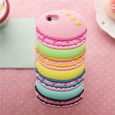 Macarons Cupcake Cake Scones Candy Muster Silikon für iphone 5 iphone 6 und…