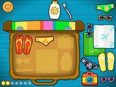 Kleuters digitaal! Bogga Vacation - Ga Op Vakantie - Kleuters digitaal! Thema Hawaii, Ipad, Busy Bags, Summer Kids, Tanzania, Trek, Crafts For Kids, Preschool, Around The Worlds