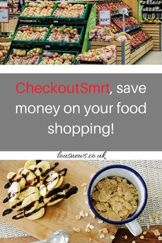 CheckoutSmrt, save money on your food shopping! #food #save #free #freefood